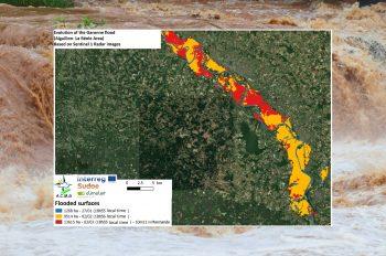 Le projet ClimAlert met en garde contre le risque d'inondation dans la région d'Aiguillon et de La Réole