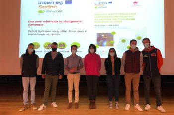 BTSA students present the CLIMALERT Project